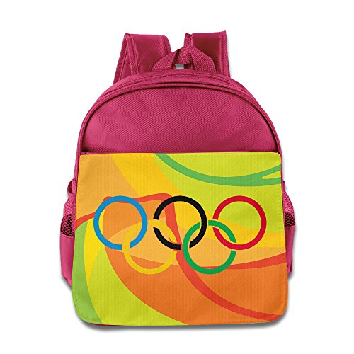 HAPYO 2016 Summer Olympic Games Backpack / Kids' School Backpack Pink
