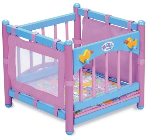 Baby Born 801321 - Wickeltisch/Laufstall, Holz: Amazon.de: Spielzeug
