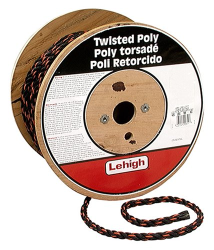 (Lehigh Secure Line TRB860 Twisted Poly California Truck Rope, 3/8-Inch by 600-Foot)