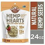 Manitoba Harvest Hemp Hearts Raw Shelled Hemp Seeds, 24 Ounce
