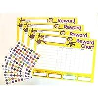 Minilabel Lot de 4 tableaux de récompenses