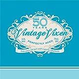 Creative Converting 16 Count Vintage Vixen 50th Birthday Beverage Napkins