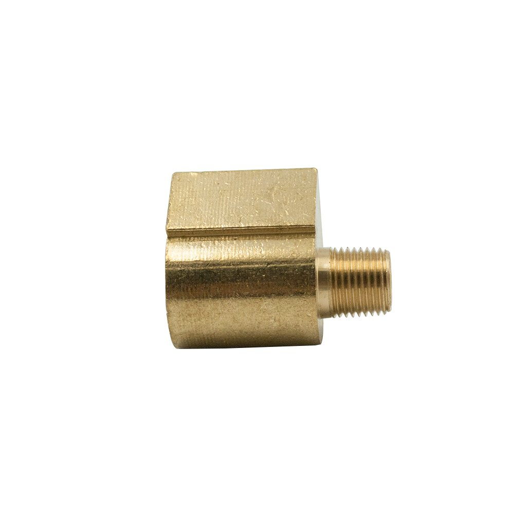 3//8 Tube OD x 3//8 NPT Male Pack of 2 Legines Brass Inverted Flare Fitting Barstock Brake Line 90 Degree Male Elbow