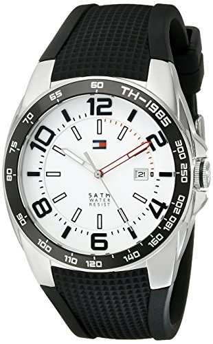 tommy-hilfiger-mens-1790884-sport-stainless-steel-watch-with-black-silicon-band