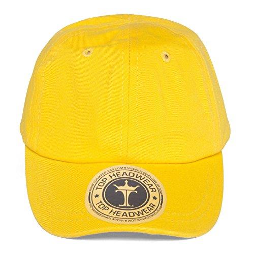 TopHeadwear Infant Cargo Baseball Hat, Yellow]()