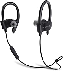 OIOSEN Auriculares Bluetooth, Impermeable In-Ear Bluetooth V4.1 Audífonos Deportivos Inalámbricos Correr, Gym, Entrenamiento, iPhone, Android Otros Dispositivos