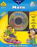 Math 1, Dalmatian Press Staff and School Zone Publishing Interactive Staff, 0887439322