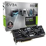 EVGA 04G-P4-6256-KR  NVIDIA GeForce GTX 1050 Ti FTW DT GAMING 4GB GDDR5 DVI/HDMI/DisplayPort PCI-Express Video Card w/ ACX 3.0 Cooler