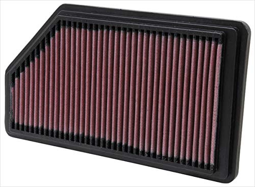 K&N engine air filter, washable and reusable:  2001-2008 Acura/Honda (MDX, Pilot) 33-2200 ()