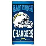 "NFL San Diego Chargers 30"" x 60"" Logo Beach Towel - Navy Blue"