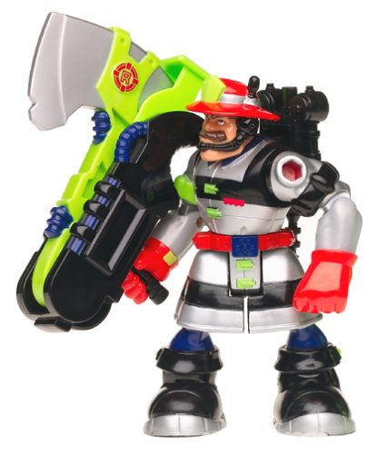 UPC 027084060614, Rescue Heroes Billy Blazes Firefighter Dual Tool Team with Rescue Ax & High-Powered Water Blaster