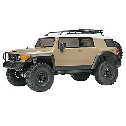 Hobby Products International Racing 117165 1/10 Venture Toyota FJ Cruiser 4WD Ready to Run Beige Radio Control (Toyota Truck Motors)