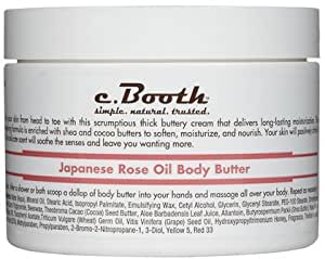 c. Booth Body Butter-Japanese Rose Oil-8 oz