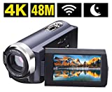 Best Video Camera 4ks - SEREE Camcorder 4K 48MP WIFI Control Digitial Camera Review