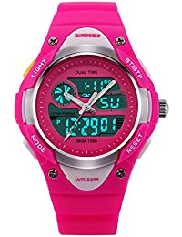 Girls Watch , Analog Digital Display Outdoor Sports...