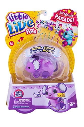 LITTLE LIVE PETS S4 LIL' MOUSE SINGLE PACK CAFÉ CUTIE