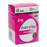 L'eggs Everyday Knee High 8 Pair Pack