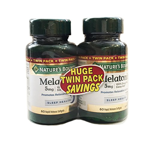 Natures Bounty Melatonin Supplement Softgels