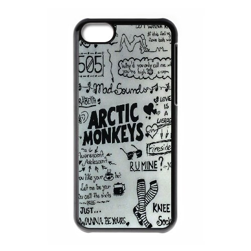 High quality Arctic Monkey logo, Rock band music,Arctic Monkey band protective case cover For Iphone 5c QH596718362