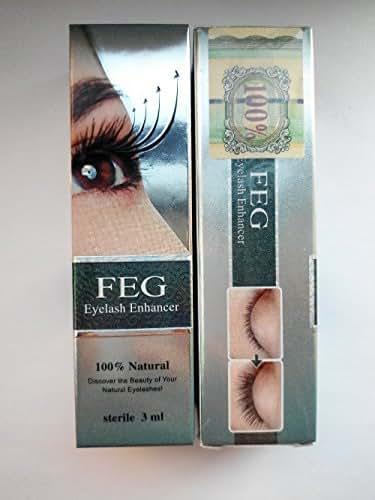 FEG Eyelash Enhancer Eye Lash Rapid Growth Serum Liquid 100% Original 3ml