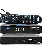 OCTAGON SX889 WL HD H.265 IP HEVC Set-Top Box - Internet Smart TV-ontvanger, mediaspeler, mediathek, DLNA, YouTube, webradio, iOS en Android app, USB PVR, 150 Mbits WiFi geïnstalleerd + EasyMouse HDMI