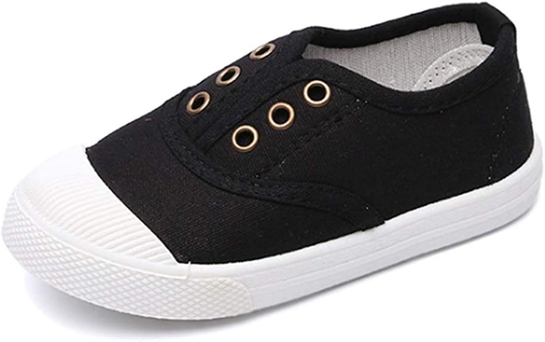 Girls Boys Canvas Shoes Trainers Shoe