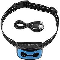 Oumefar Collar antiladridos Collar de ladridos de Perro Ajustable de 7 Niveles Corrector de Mascotas con ladridos…