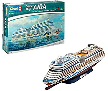 Revell- Maqueta Cruiser Ship BLU, Sol, Mar, Aida Stella, Escala 1:400 (5230) (05230)