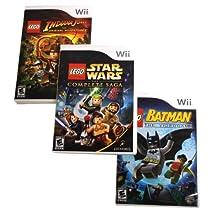 LEGO 3-Pack Wii Bundle