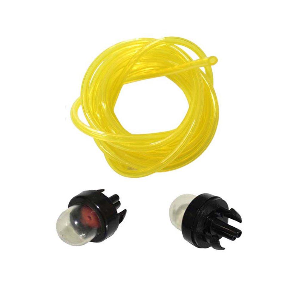 5Pcs Snap In Primer Bulbs /& 2Pcs Pump Fuel Line RYOBI 683974 Fit For ECHO Poulan