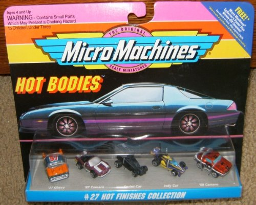 Micro Machines Hot Finishes #27 Collection