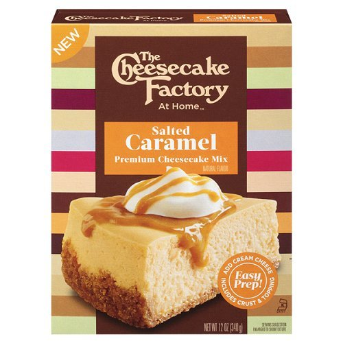 The Cheesecake Factory At Home Salted Caramel Premium Cheesecake Mix  1 Box   Net Wt 12 Oz