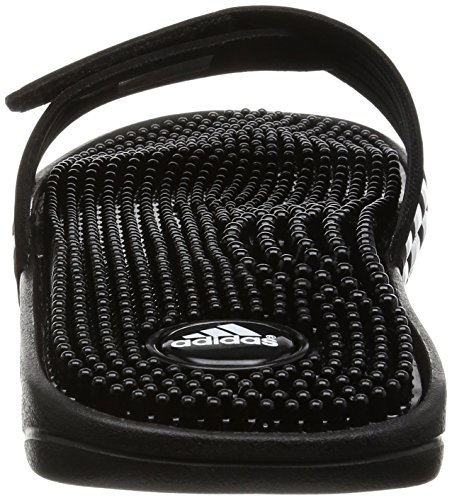 Hombre Negro Adidas Black de Adissage Zapatos y para Playa Piscina 8F0p8q