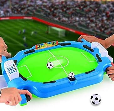 Fanville Mini Jeu De Football De Table Bureau Mini Bureau De Football Jeu Int/érieur Football Board Enfants Jouets