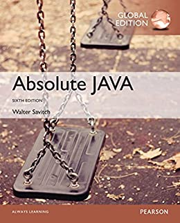 Amazon Com Absolute Java Global Edition Ebook Walter Savitch