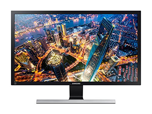"Samsung UE510 LED DISPLAY Monitor, Black, 28"" 4K (Certified Refurbished)"