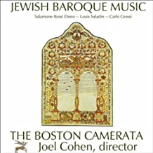 Jewish Baroque Music: Compositions By Salamone Rossi Ebreo, Carlo Grossi, And Louis Saladin
