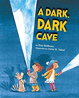 Book Cover: A Dark, Dark Cave