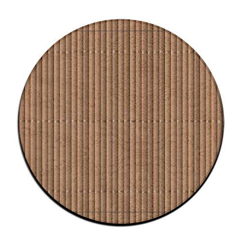 BINGOING Mat Bamboo Soft Coral Velvet Circular General Purpose Floor Mat Or Rug Use In Front Of Bedroom, Kitchen,Vanity, Bath Tub, Living Room And Toilet