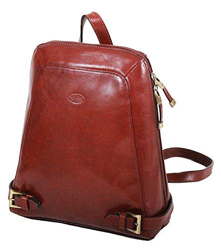 Katana - Bolso mochila de Piel para mujer Marrón marrón: Amazon.es: Ropa y accesorios