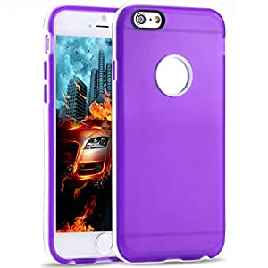 Cell Buddy 100Pcs 4.7'' Wholesale Clear Back Case for Iphone 6 Cover Soft Transparent TPU + PC Frame With Precise Hole Shell 10 Colors --- Color:White