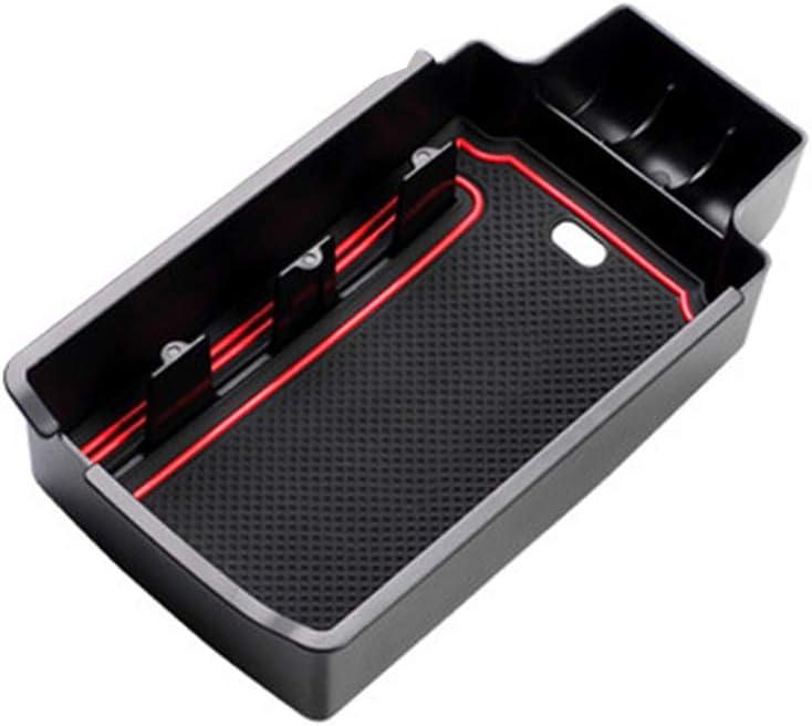 Per A UDI Q3 Storage Box Braccioli Con Tappetino Antiscivolo Scatola del Bracciolo Vano Portaoggetti Secondario da Bracciolo