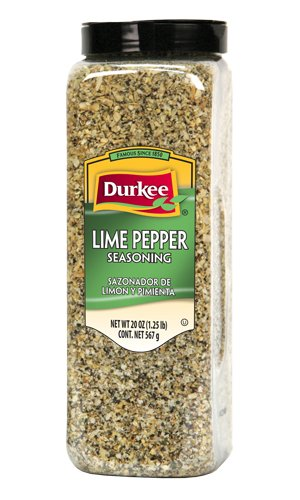 Durkee Lime Pepper Seasoning, 20 oz. (2 pack)