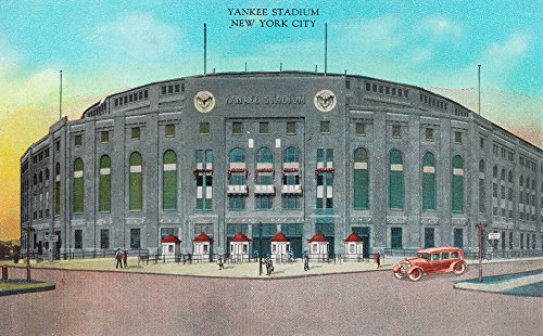 NYC, New York - Front Entrance to Yankee Stadium View