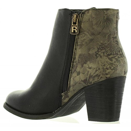 Bottines Femme 62255 Negro Refresh C pour TfnW4w4
