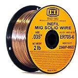 513PiXklmZL. SL160  - INEFIL ER70S-6 .035-Inch on 2-PoundSpool Carbon Steel Mig Solid Welding Wire