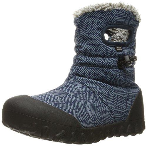 Bogs B-Moc Dash Puff Winter Snow Boot (Toddler/Little Kid/Big Kid), Blue/Multi, 10 M US Toddler