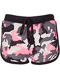 Womens Camouflage Hot Pants Ladies Army Shorts