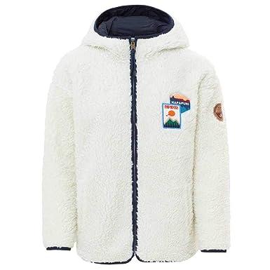 a473feb20f337 Napapijri Sweat-Shirt à Capuche avec Capuche et Le Patch Tara -Nouveau  Milk-M: Amazon.fr: Vêtements et accessoires
