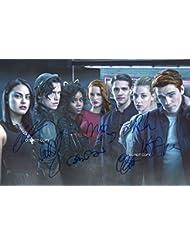 """Riverdale CW TV Show cast Reprint Signed Autographed 12x18"""" Poster Photo #2 RP"""
